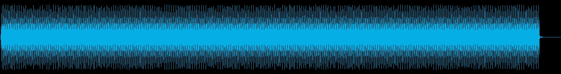 ヘビーグラウンドハム、ショートの再生済みの波形