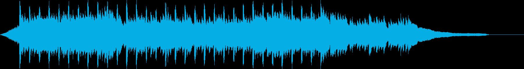 企業VP系47、爽やかピアノ4つ打ちcの再生済みの波形