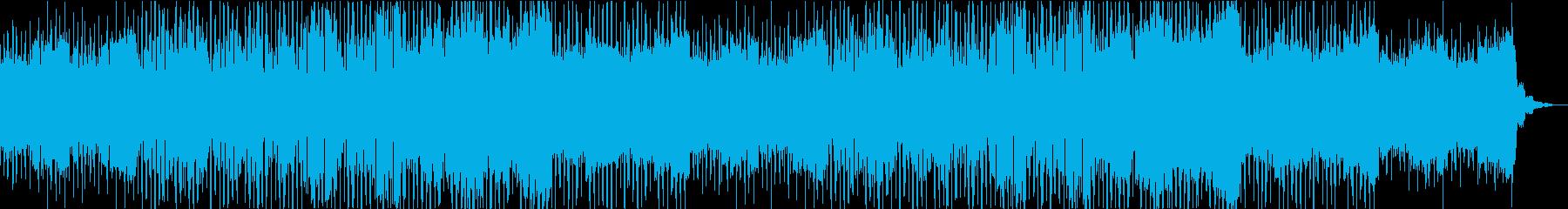 午後の日常/vlog/カフェ/ギターの再生済みの波形