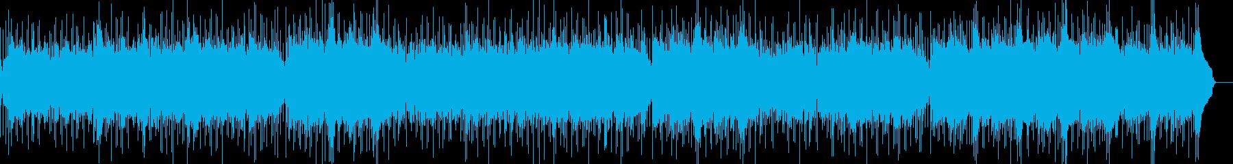爽やか歌物ポップスをインストにした様な曲の再生済みの波形