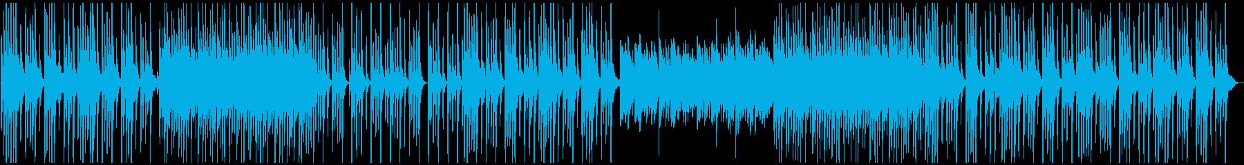可愛いくてゆるい日常系(ドラム無し)の再生済みの波形