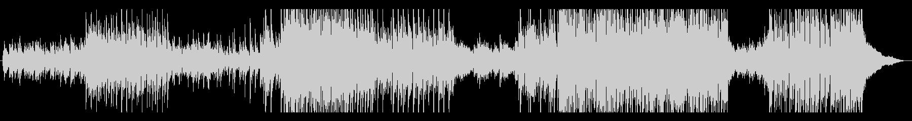 メロディ重視のアコースティック曲の未再生の波形
