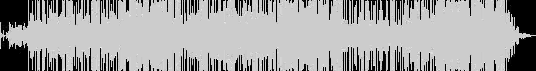 ピアノとシンセのハイブリッドなバラードの未再生の波形