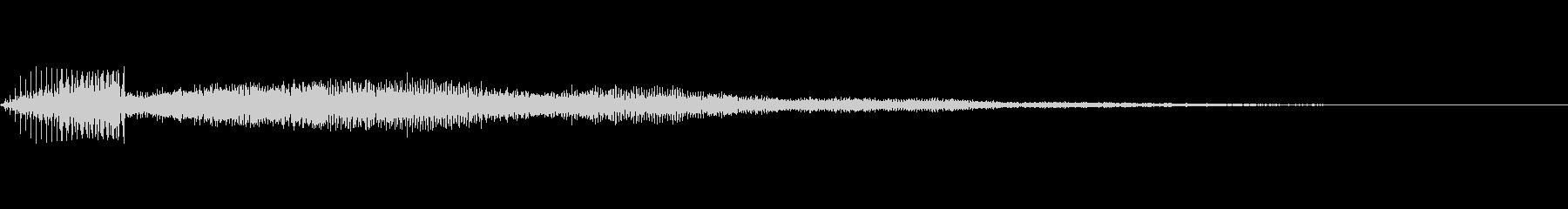 「ピッ」というセレクト音・操作音の未再生の波形