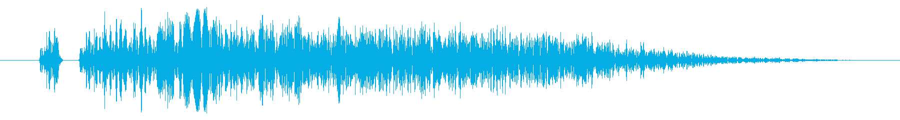 【打撃音06】パンチやキックに最適です!の再生済みの波形