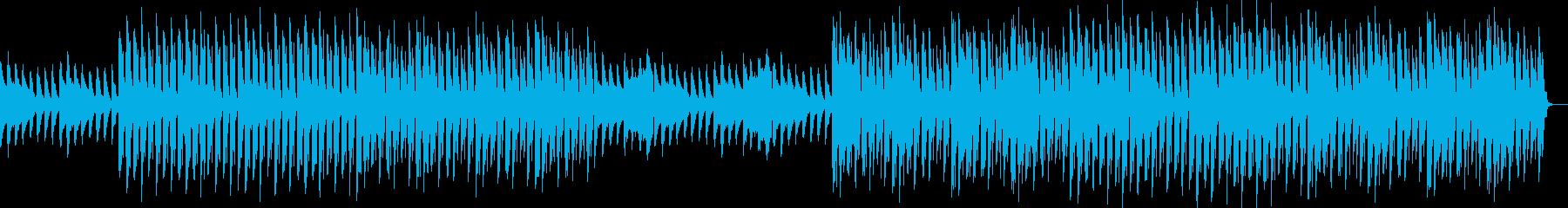 おしゃれ・クール・EDM・ハウス18の再生済みの波形
