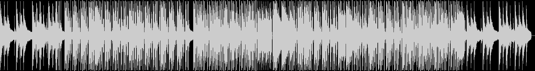 夕暮れの公園で聴きたいHiphopBGMの未再生の波形