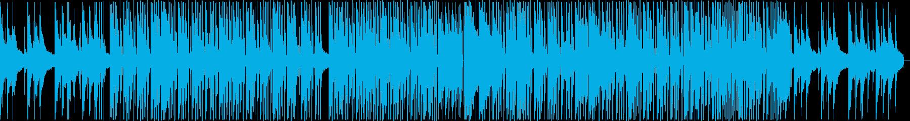夕暮れの公園で聴きたいHiphopBGMの再生済みの波形