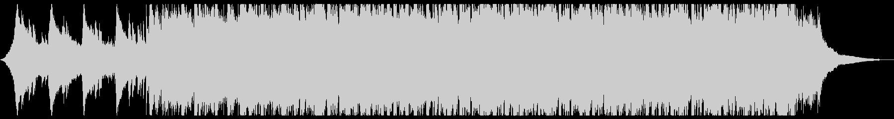 インディーズ ロック ポップ ほの...の未再生の波形