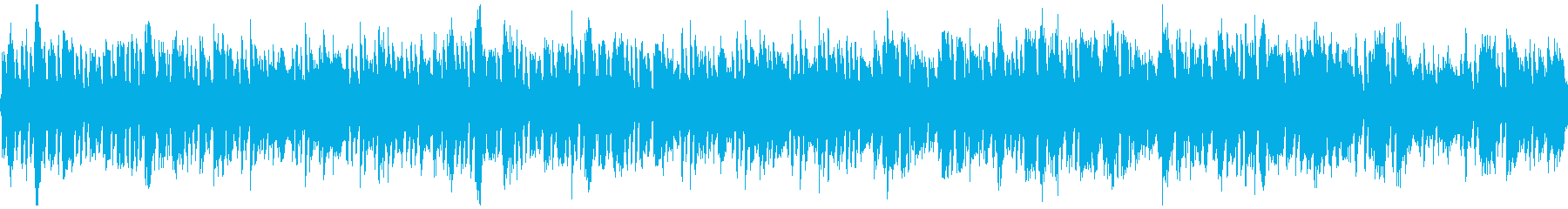 軽快な中世の町BGM・ループの再生済みの波形