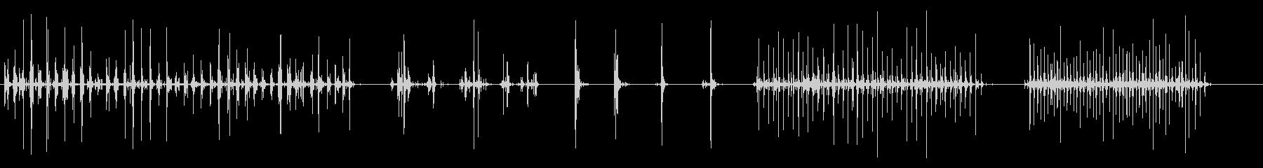 クランチ2を残すの未再生の波形