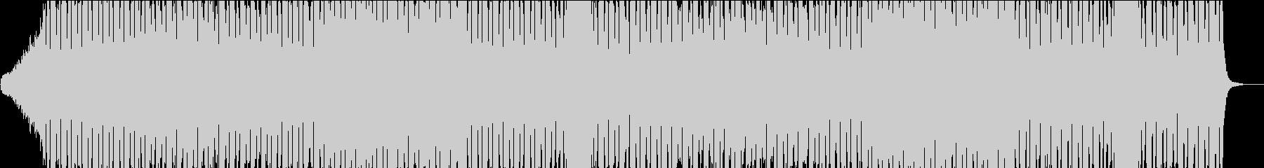 戦闘曲風のBGMの未再生の波形