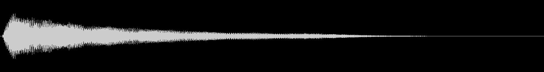 残念・失敗・呆れ・コミカル Low-4の未再生の波形