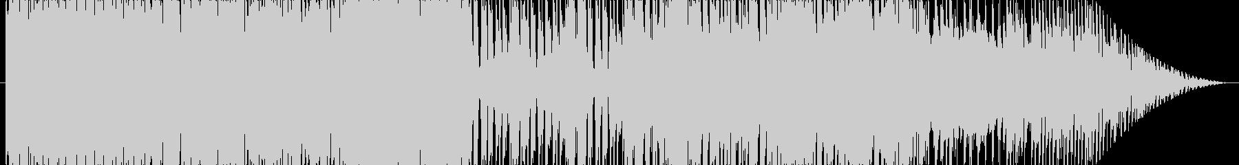 和風・やや激し目な戦闘曲の未再生の波形
