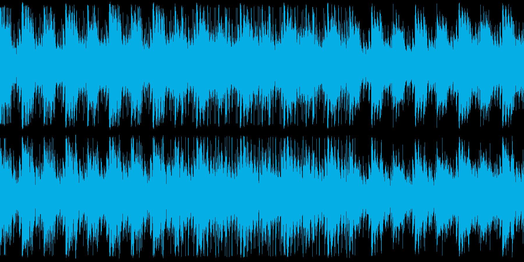 不思議で怪しい民族ファンタジー ループの再生済みの波形