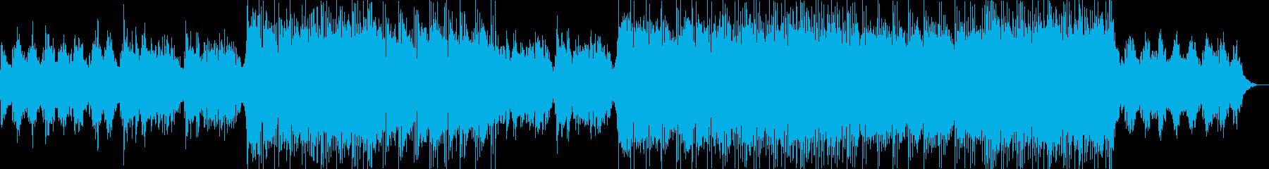 R&B英語/女性ボーカル/バラードの再生済みの波形