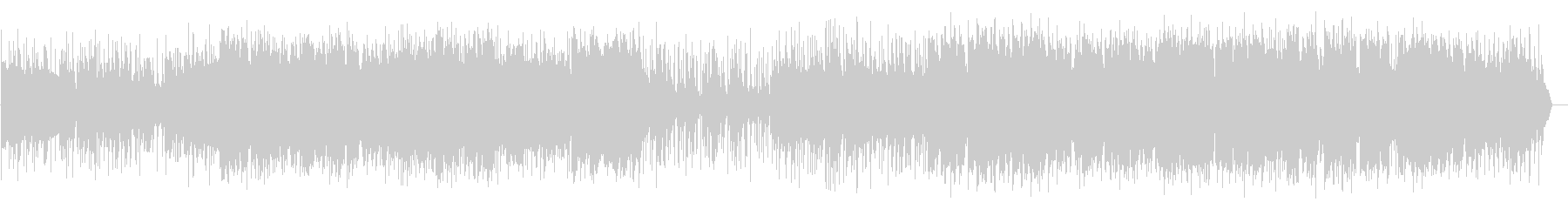 トランペットがメインのシネマ風ジャズの未再生の波形