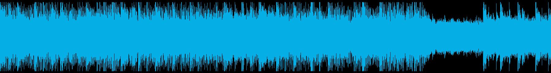 疾走感あるギターリフ Loop可能の再生済みの波形