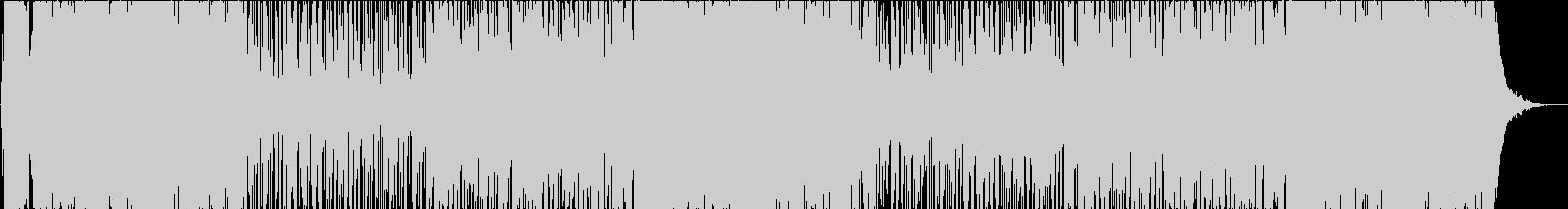 エモーショナルで感動的なHIPHOPの未再生の波形