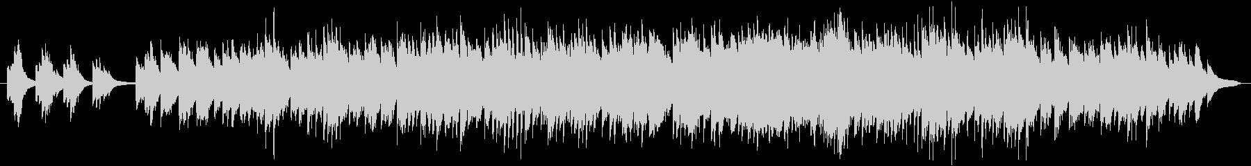 現代風童歌(ピアノソロ)の未再生の波形