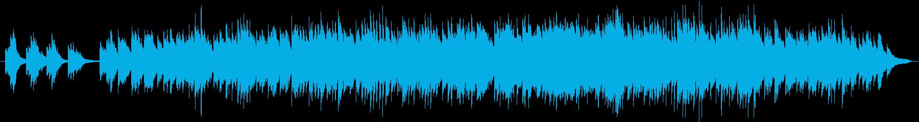 現代風童歌(ピアノソロ)の再生済みの波形