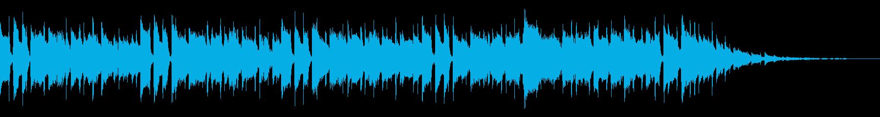 プロフィールビデオ向けの再生済みの波形