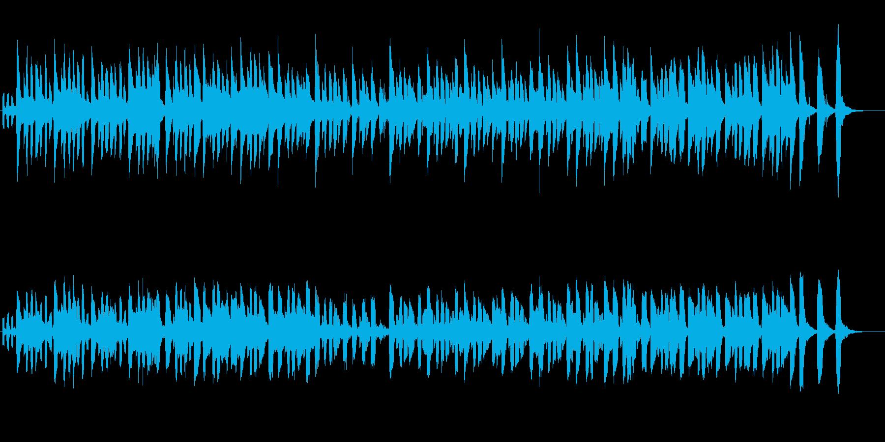 ショパンの革命をデフォルメ リコーダーの再生済みの波形