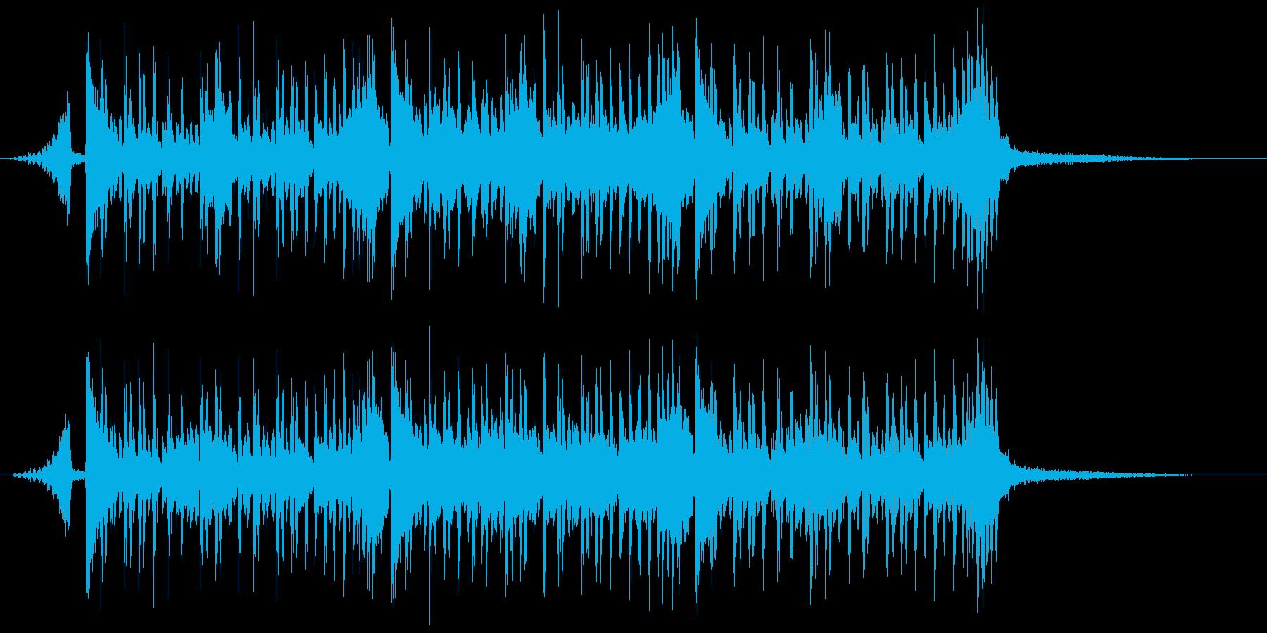クイズのシンキングタイム、科学、実験の再生済みの波形
