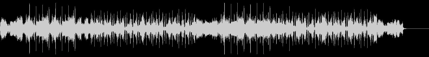 キラキラサウンドのヒップホップの未再生の波形