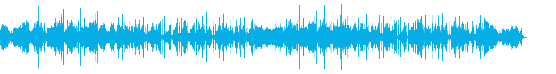 キラキラサウンドのヒップホップの再生済みの波形