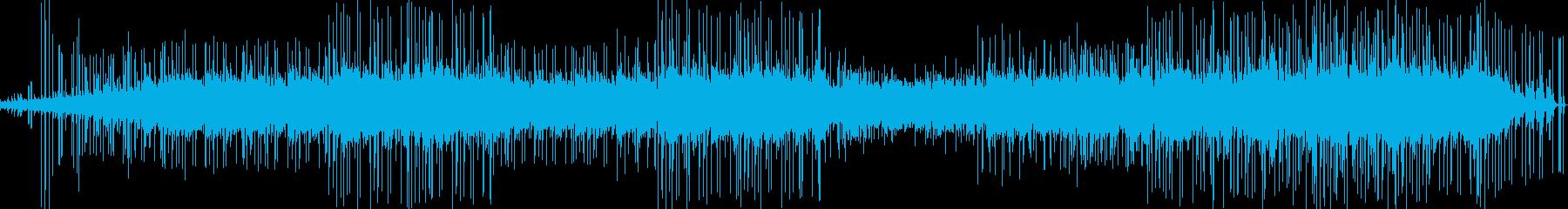 癒される様なほのぼのとした曲の再生済みの波形