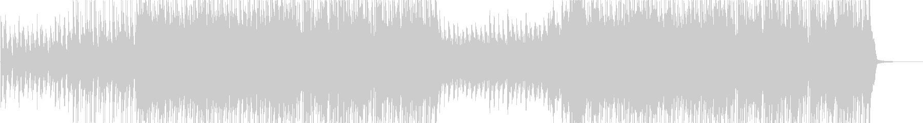 Rhythmic and cute happy heartwarming song's unreproduced waveform