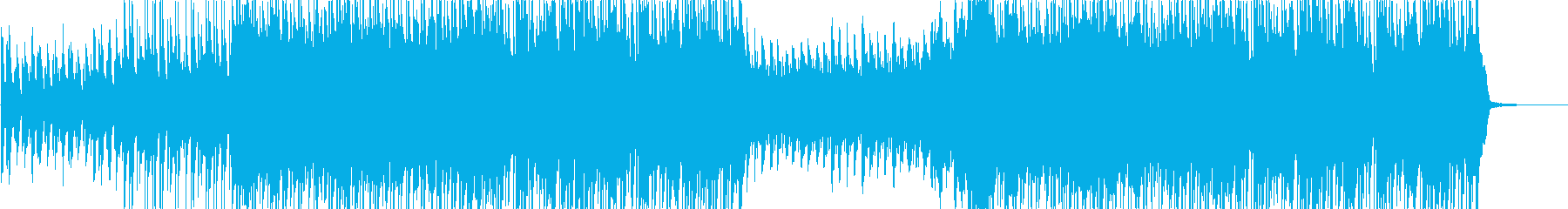 Rhythmic and cute happy heartwarming song's reproduced waveform