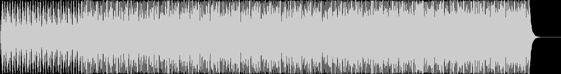 チルアウト系BGMの未再生の波形