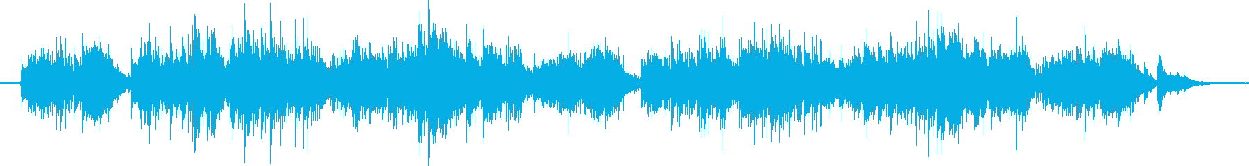 ガットギターとチャランゴによるバラードの再生済みの波形