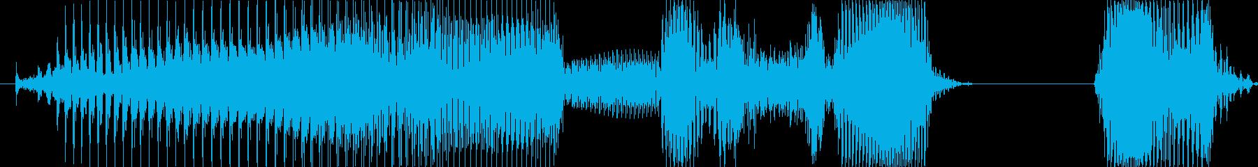 ゲームセット!の再生済みの波形