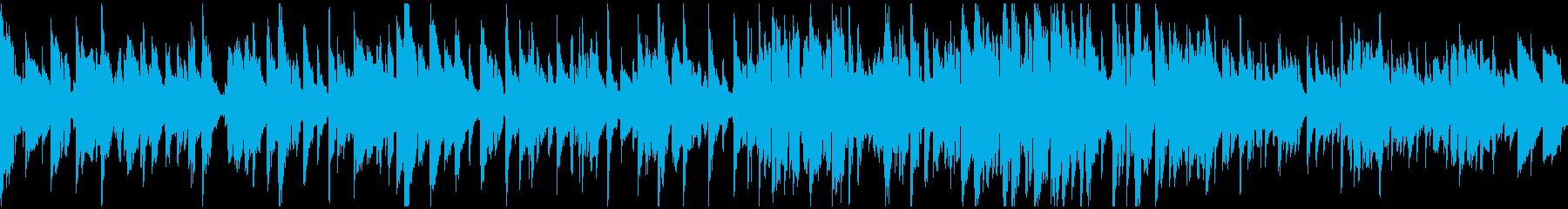センチメンタルなジャズワルツ ※ループ版の再生済みの波形