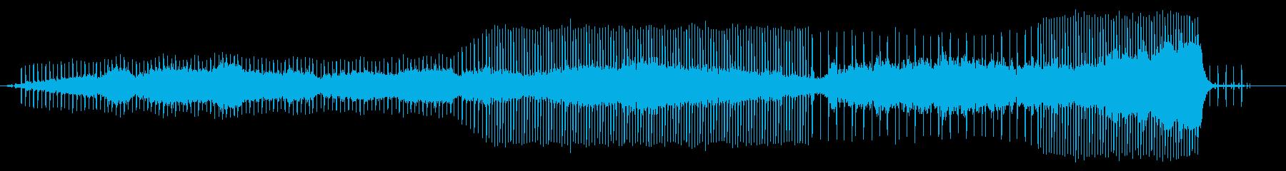 現代音楽風、サイケ、ホラーの劇伴のようなの再生済みの波形