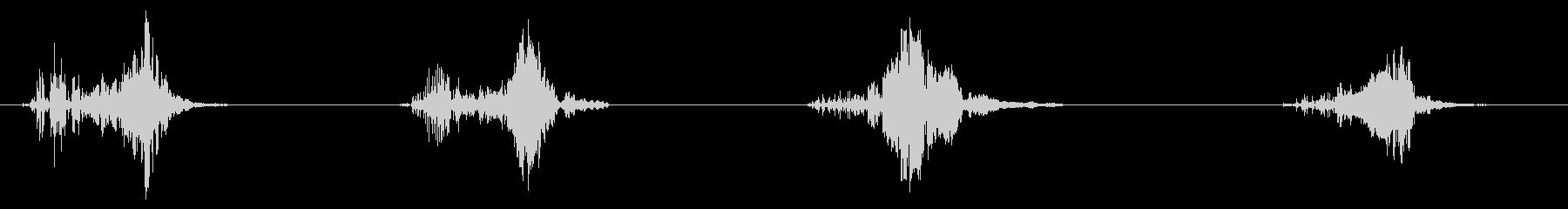 Ptexジップ、4Xの未再生の波形
