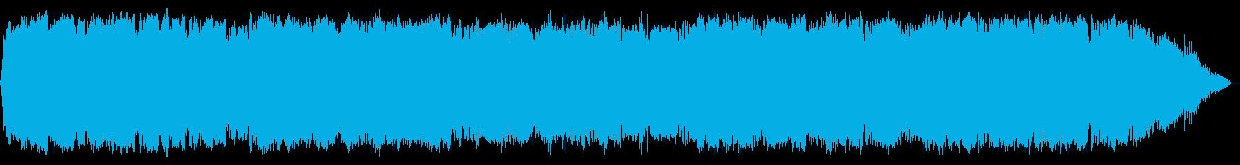 少し切ない竹笛の音楽の再生済みの波形