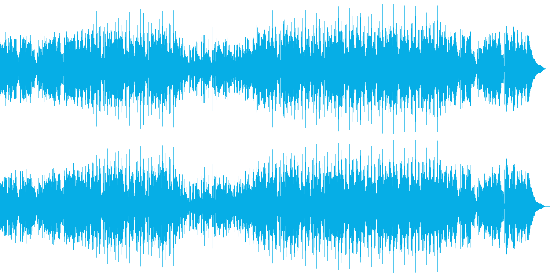 新生活・爽やか・ワクワク・ジャズの再生済みの波形