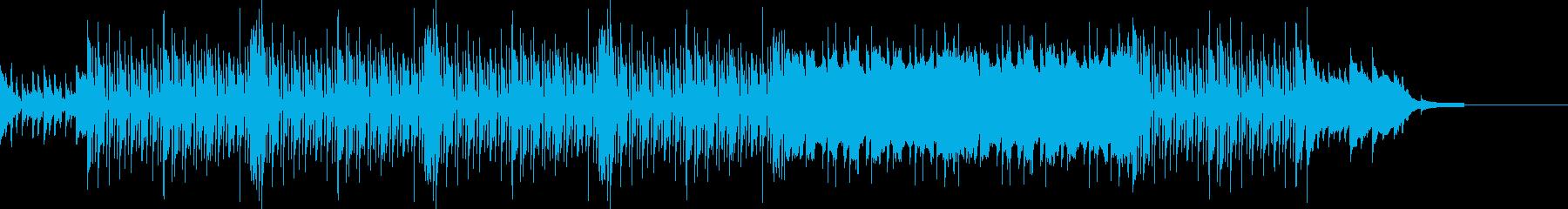 ほのぼのとした、牧歌的なBGM。の再生済みの波形