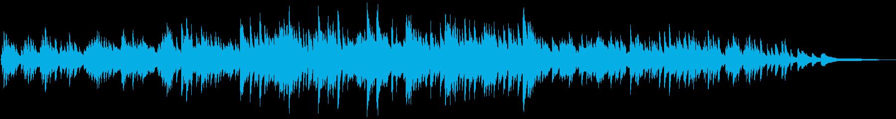 企業VP・CM 和風で美しいピアノソロの再生済みの波形