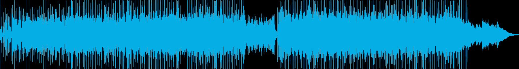ヘヴィロック アクション 技術的な...の再生済みの波形