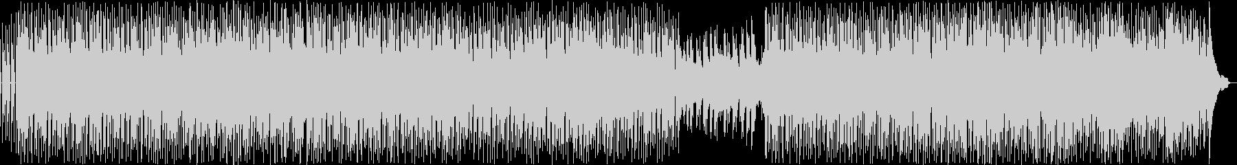 アコースティックギターアンサンブルの未再生の波形