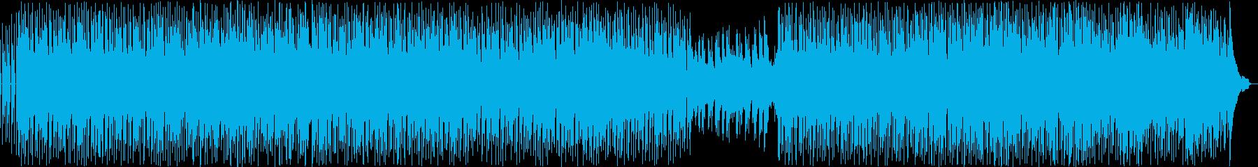 アコースティックギターアンサンブルの再生済みの波形