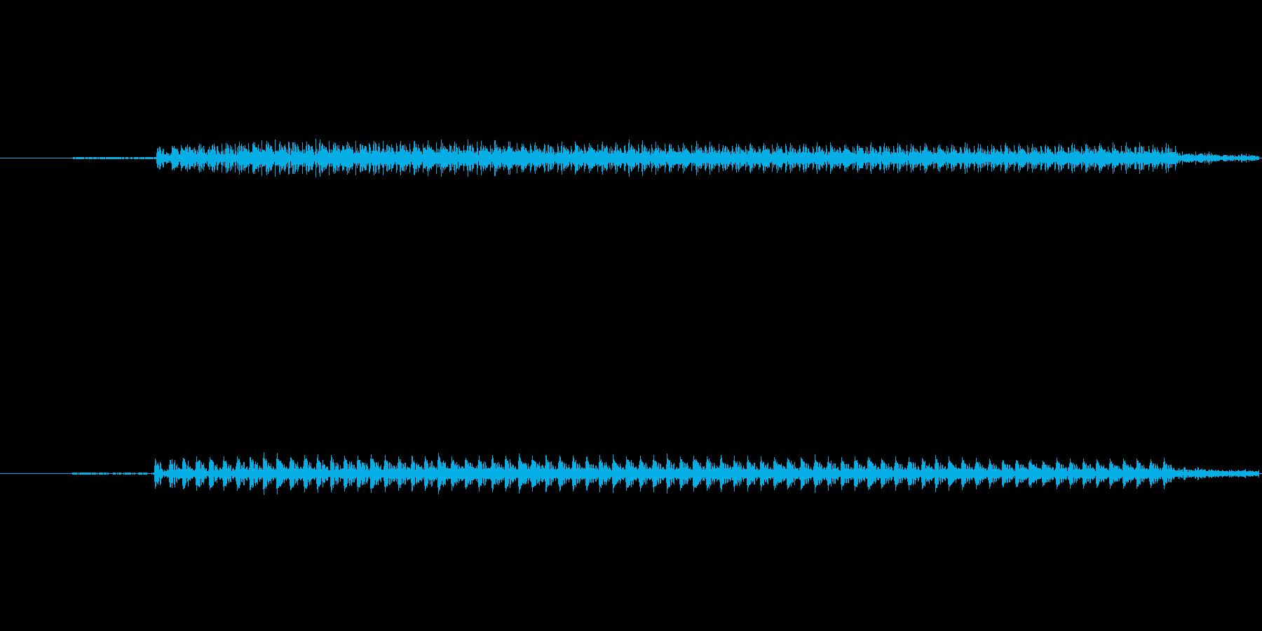 クイズ不正解1の再生済みの波形