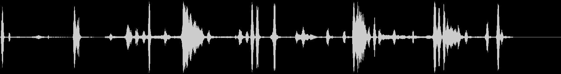 侵入者の存在、エクステリアヤードハ...の未再生の波形