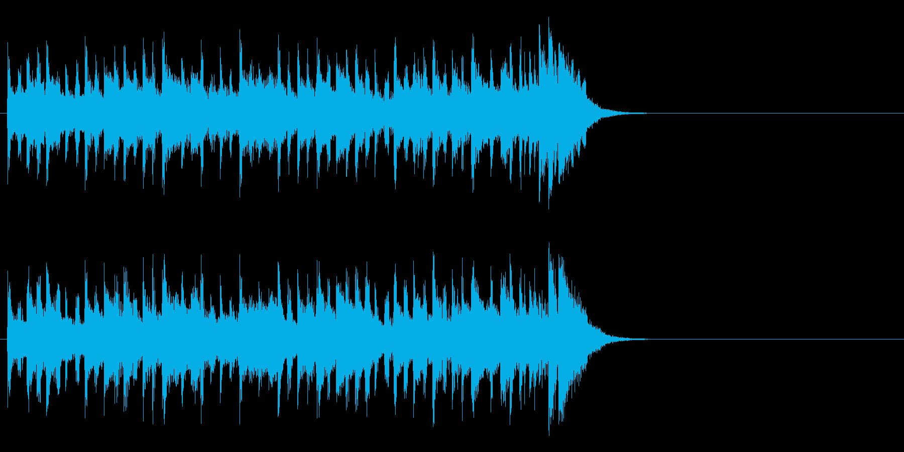 企画PR向け爽やかポップ(Aメロ)の再生済みの波形