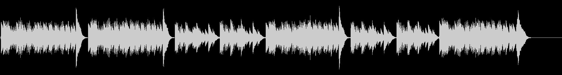 キラキラ星変奏曲(Var Ⅶ)オルゴールの未再生の波形